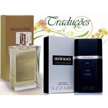 Perfume Hinode Gold 47 - Azarro Silver Black 100ml