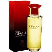 Perfume Diavolo Men Edt Masculino 100ml Antonio Banderas