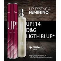 Perfume Import. Original Up!14 - D&g Light Blue Fem 50ml+br.