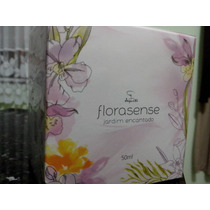 Colônia Desodorante Jequiti Florasense Jardim Encantado 50ml