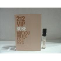 Perfume Carolina Herrera 212 Vip Rosé Feminino 1,5ml Amostra