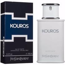 Perfume Ysl Kouros 100ml Yves Saint Laurent Edt - Original
