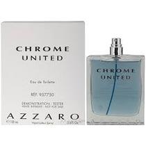 Tester Azzaro Chrome United 100ml Procedencia Original