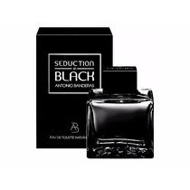 Perfume Antonio Banderas - Seduction In Black - Masc- 100ml