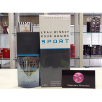 Perfume Issey Miyake Leau Dissey Pour Homme Sport Edt 100ml