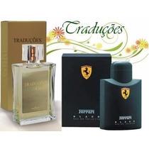 Perfume Ferrari Black Traduções Gold Hinode 100 Ml