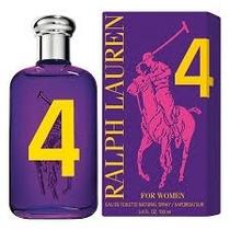 Ralph Lauren Polo Big Pony Purple #4 Edt Feminino - 50 Ml