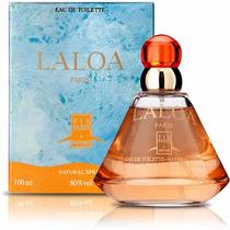 Perfume Laloa Feminino 100ml Via Paris Edt ** Original