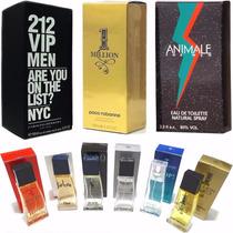 Lote Kit 10 Perfumes Importados Atacado Revenda Frete Gratis
