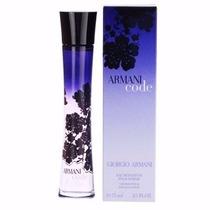 Perfume Armani Code Feminino Edp 75ml Original Lacrado