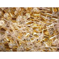 10 Válvulas Spray Easy Lock Ouro - Dourado 15mm