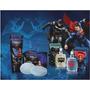 Kit Jequiti Batman Vs Superman Colônia Sabonete Shampoo 2em1