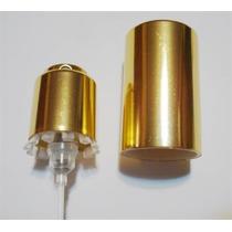 10 Válvulas Spray Easy Lock 15mm Dourado - Ouro Com Tampa