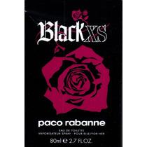 Perfume Black Xs 80ml Edt Original Paco Rabanne Feminino