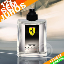 Perfume Masculino Ferrari Black Shine Tester 125ml Edt