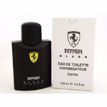 Perfume Tester Ferrari Black 125ml Entrega Rápida