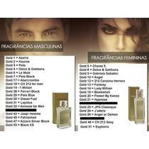 Perfumes Hinode Traduções Gold - Importados C/ Alta Fixação