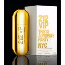 Perfume Feminino 212 Vip Carolina Herrera 50ml - Original