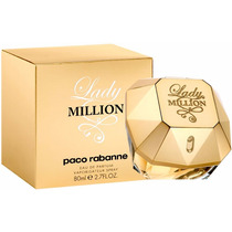 Perfume Paco Rabanne Lady Million 80ml - Original Lacrado