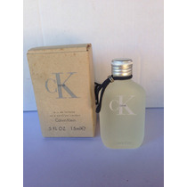 Miniperfume Ck One Eau De Toilette 15ml Spray