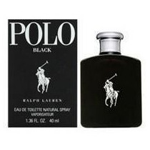 Perfume Ralph Lauren Polo Black Eau De Toilette Masc 40ml