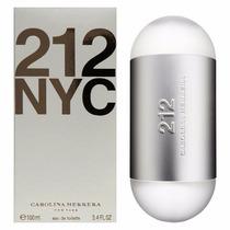 Perfume 212 Nyc Feminino Edt 100ml Carolina Herrera Original