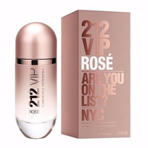 Perfume 212 Vip Rosé Carolina Herrera Pronta Entrega!