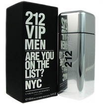 Perfume 212 Vip Men Carolina Herrera 100ml Edt 100% Original
