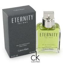 Perfume Eternity Masculino 100ml Edt Original Frete Grátis.