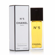 Chanel Nº 5 Eau De Toilette 50ml Feminino | 100% Original