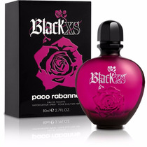 Perfume Black Xs Feminino 80ml Original E Lacrado