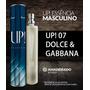 Perfume Up Essencia 07 - D&g Masculin- Original Frete Gratis