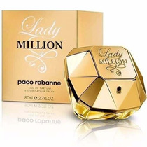 Perfume Lady Million 80ml Lacrado 100%original