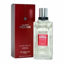 Perfume Habit Rouge Eau De Toilette Guerlain For Men 100ml