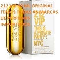 Perfume 212 Vip Feminino 50 Ml Original Pronta Entrega