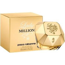 Lady Million 80ml - 100% Original E Lacrado