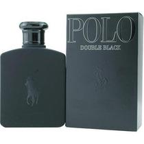 Perfume Polo Double Black Masculino Eau De Toilette 125ml