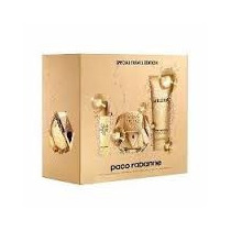 Kit Perfume Lady Million Edp 80ml + Body Lotion 100ml + Trav