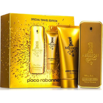 Kit Perfume One 1 Million 100ml +100ml Paco Rabanne Original