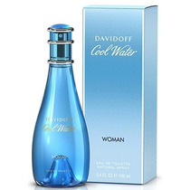 Perfume Daviddoff Cool Water 100ml Feminino Edt Original.