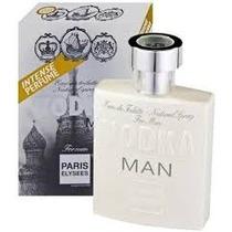 Perfume Vodka Man 100ml Paris Elysees - Similar 212 Vip Men