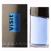Perfume Azzaro Visit 100ml For Men Made In France Original !