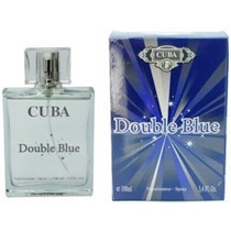 Perfume Cuba Double Blue Masculino 100 Ml