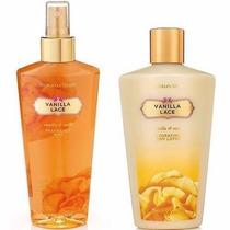 Kit Creme + Body Splash Victorias Secret Vanilla Lace 250ml