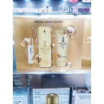 Kit One Million Perfume 100ml + Gel 100ml + Perfume Miniatu