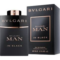 Perfume Bulgari Man In Black Edp Masculino 55ml