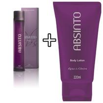 Perfume Absinto Woman + Creme Corporal 220g- Agua De Cheiro