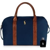 Perfume Polo Black Edt 125ml Masculinoc/mochila Ralph Lauren