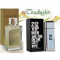Perfume 212 Vip Men 100ml Importado Hinode Masculino