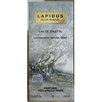 Ted Lapidus Pour Homme Edt 100 Ml Masculino - Original
